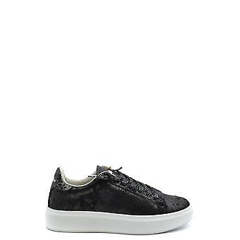 Lotto Ezbc139002 Women's Black Fabric Sneakers