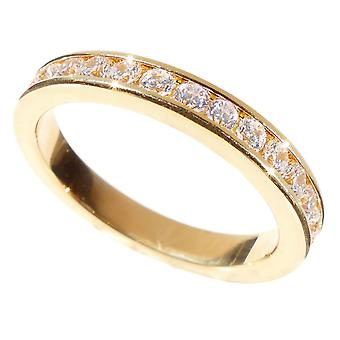 Gravé avec «Always and Forever» - Ah! Bijoux or Eternity Band Ring