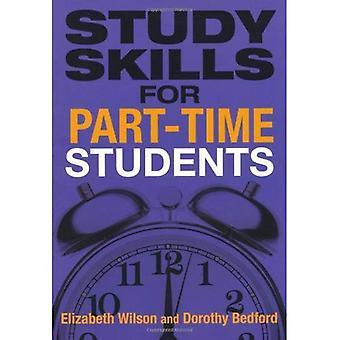 Studievaardigheden voor deeltijdse studenten