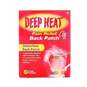 Mentholatum Deep Heat Pain Relief Back Patch