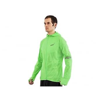 Inov8 At/c Windshell Full Zip Mens Running Jacket Green