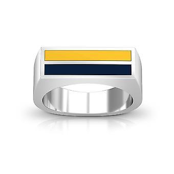 U van California Irvine ring in Sterling Zilver ontwerp door BIXLER