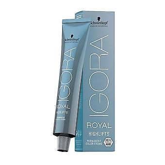 Schwarzkopf Igora Royal Permanent Hair Colour - 10-21 Blonde Ash Cendre