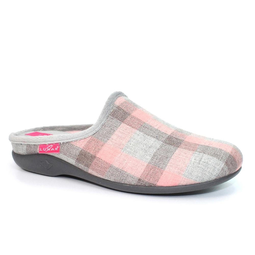 Lunar Tequila Checked Mule Slipper 5YAaN