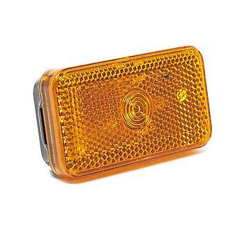 Nieuwe Maypole Maypole Amber Side Marker Lamp & Reflector Orange