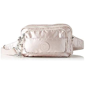 Kipling Multiple - Women Pink Shoulder Bags (Metallic Rose) 20x13x7.5 cm (B x H T)