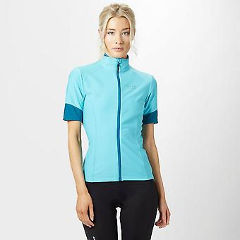 New Gore Women's Power GoreWindstopperZip-Off Jersey Light Blue