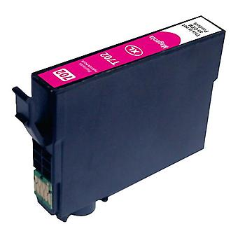 Magenta Compatible Inkjet Cartridge Replacement For 702XL