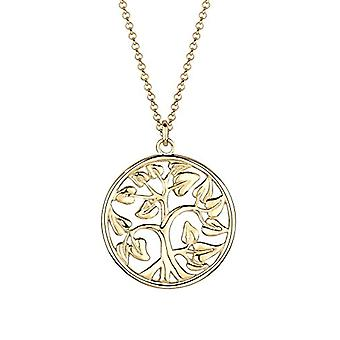 Goldhimmel Necklace with Women's Pendant in Silver 925 - Yellow Gold Plated
