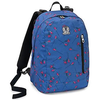 Backpack 2in1 Reversible Invicta Twist Eco-Material - Blue - 26 Lt - Fantasy - United Color - School & Leisure