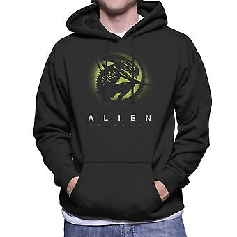Alien Covenant Xenomorph Silhouette Men's Hooded Sweatshirt