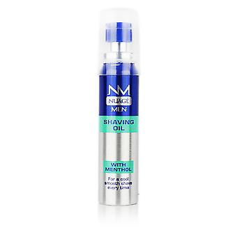 Nuage Mens Shaving Oil With Menthol Cool Fresh & Smooth Shave 25ml