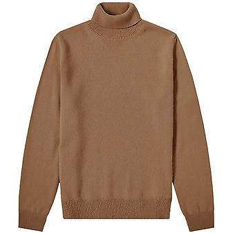 Maison Margiela Turtle Neck Patch Pullover Jumper