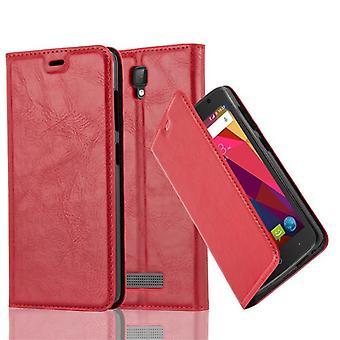 Cadorabo Hülle für ZTE BLADE L5 Case Cover - Handyhülle mit Magnetverschluss, Standfunktion und Kartenfach – Case Cover Schutzhülle Etui Tasche Book Klapp Style