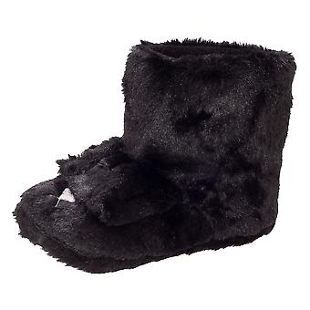 Slumberzzz Womens/Ladies Dog Boot Slippers