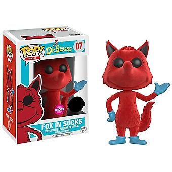 Dr Seuss Fox in Socks Flocked US Exclusive Pop! Vinyl