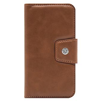 Marvêlle iPhone Xs Max Magnetic Case & Wallet Light Brown Basic