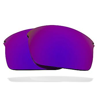 SeekOptics Replacement Lenses for Oakley WIRETAP Polarized Purple Mirror UV400