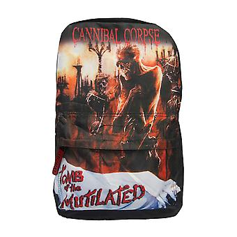 Cannibal Corpse Backpack Bag Tomb Of The Mutilated Band Logo new Official