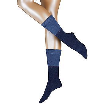 Esprit karkeasti neulottu sukat-Marine Navy