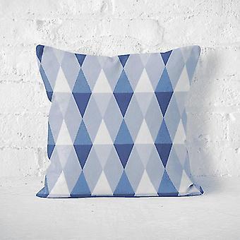 Copertina del cuscino Meesoz - Triangoli blu