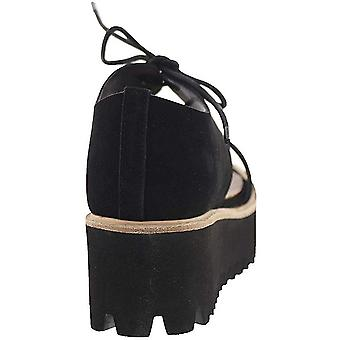 NOTFOUND Womens Flatform Band Fabric Closed Toe Special Occasion Platform San...