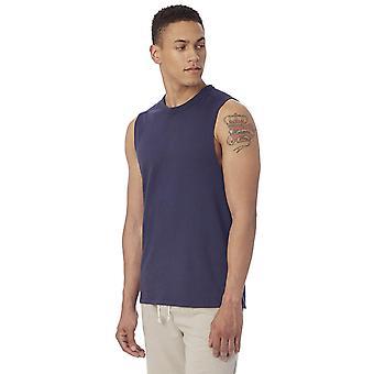 Alternative Men's Keeper Muscle Tank, Navy, X Large, Navy, Size X-Large