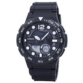 Casio World Time Alarm Analog Digital AEQ-100W-1AV AEQ100W-1AV Men's Watch