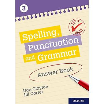 Get It Right KS3 1114 Spelling Punctuation and Grammar