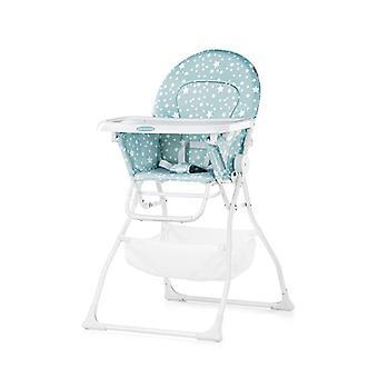 Chipolino høj stol folde karamel bord opbevaringskurv, sikkerhedssele fodstøtte