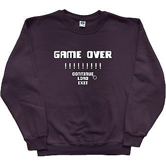 Game Over Black Sweatshirt