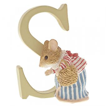 Beatrix Potter Alphabet Letter S Mrs. Tittlemouse Figurine
