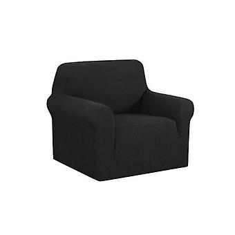 High Stretch Sofa Cover Couch Protector Slipcovers Black