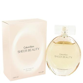 Sheer Beauty Eau De Toilette Spray By Calvin Klein   491085