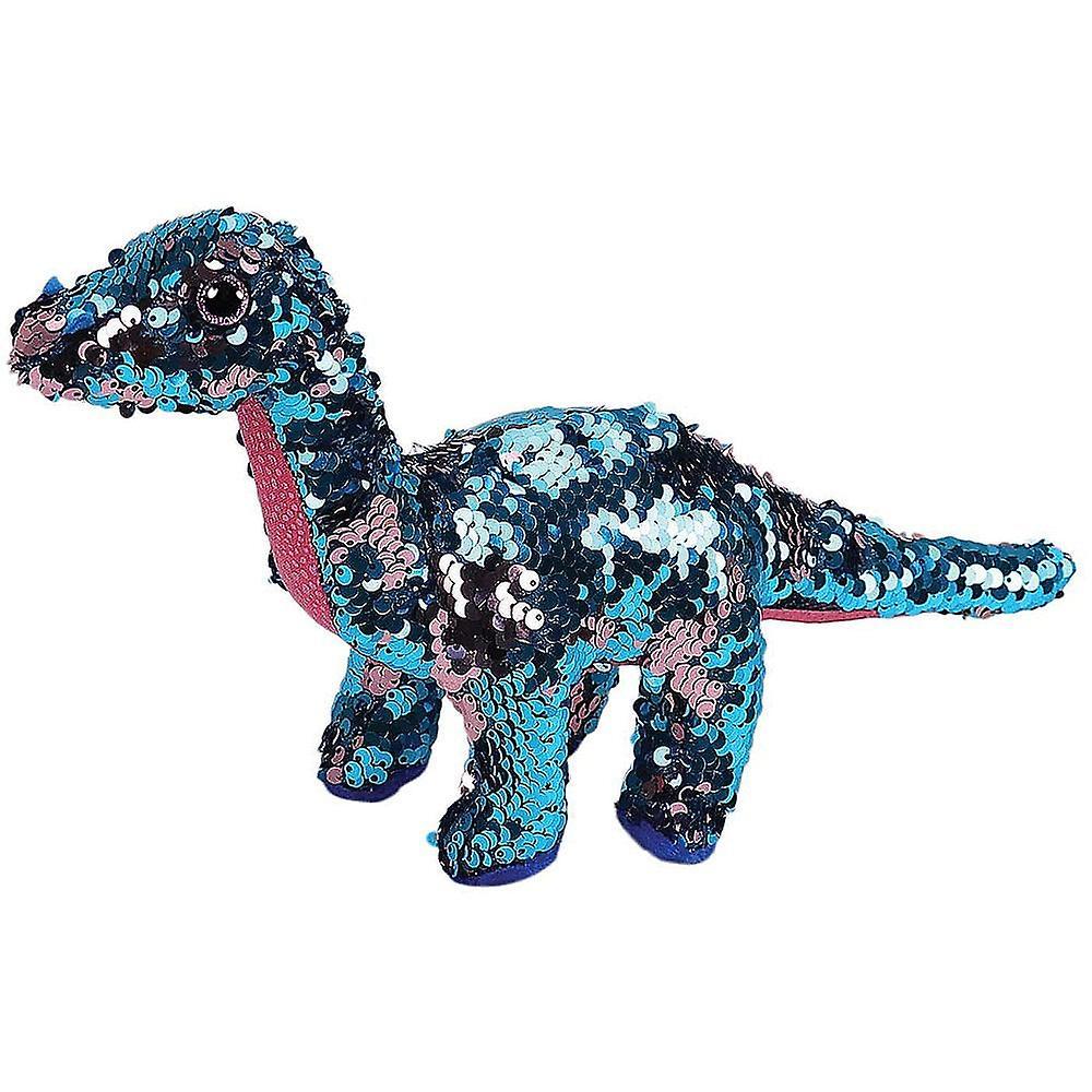TY Flippables Tremor Dinosaur Medium Size Sequins Soft Toy
