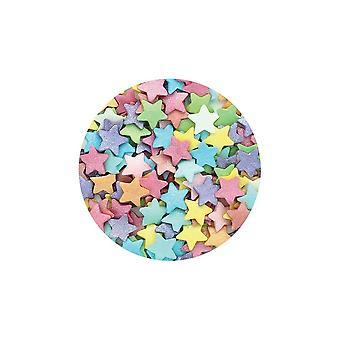Lila Cupcakes - Jumbo Multi Stars - 50g