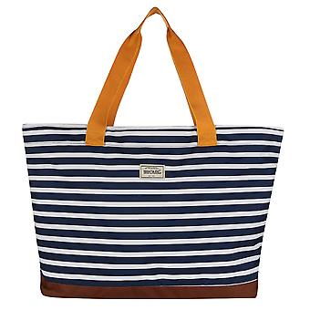 Regatta Mens Stamford Recycled Polyester Beach Bag with Zip