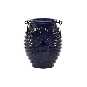 Light & Living Tealight 9.5x12cm - Novez Dark Blue