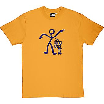 Silly Point Yellow Men's T-Shirt
