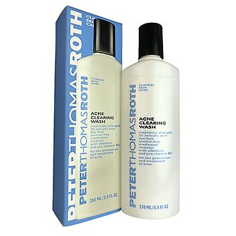Peter thomas roth acne clearing wash 8.5 oz dye and alcohol free