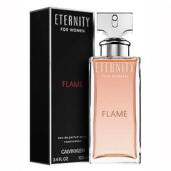 Eternity Flame by Calvin Klein for Women 3.4oz Eau De Parfum Spray