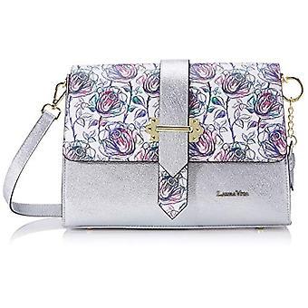 Laura Vita3304 Women's shoulder bag (Blanc)7x18x22 Centimeters (B x H x T)