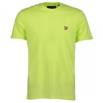 Lyle & Scott Plain Crew Neck T-Shirt Sharp Green TS400V