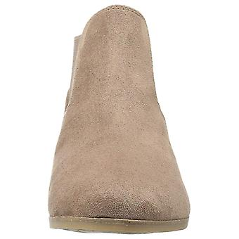 Dr. Scholl's Womens Resources Leather Almond Toe Ankle Fashion Boots