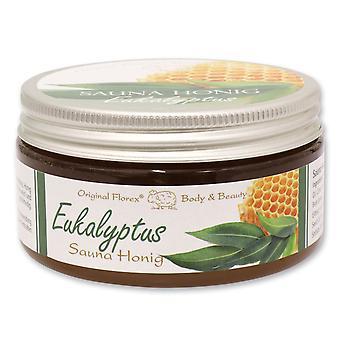Florex Sauna Honig - Eukalyptus - für Sauna Dampfbad oder Dusche für eine Seidenweiche Haut 300 g