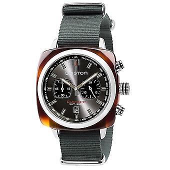 Briston 17142.SA.TS.11.NG Clubmaster Sport Grey Strap Wristwatch