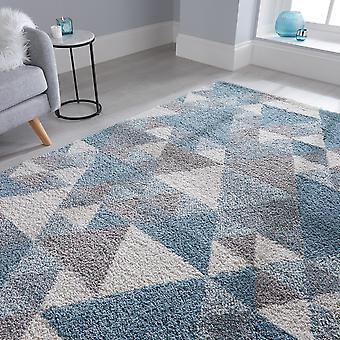 Dakari Nuru mattor i blått
