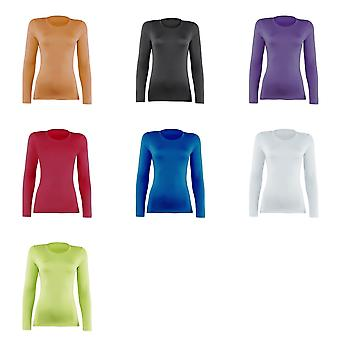 Rhino Womens/Ladies Sports Baselayer Long Sleeve (Pack of 2)
