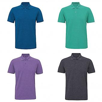 Asquith & Fox Mens Twisted Yarn Polo