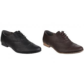 Divaz Womens/Ladies Levato Lace Up Perforated Brogues